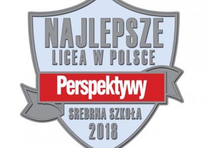 Srebrne liceum 2018