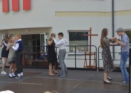 Tango w wykonaniu klasy 7a.